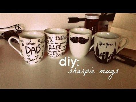 diy : sharpie mugs   YouTube