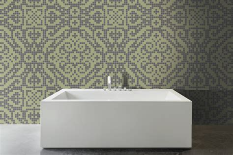 sea foam green bathroom green textiles tile pattern metza sea foam by artaic