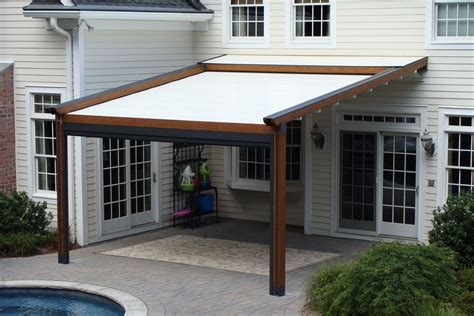 shade awnings for patios homemade patio shades gennius pergola awning with