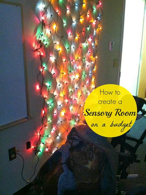 miss tips for creating a sensory room on a budget