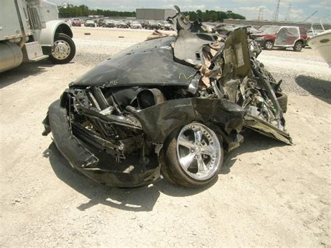 crashed mustang gt for sale hundreds of wrecked mustangs for sale svtperformance