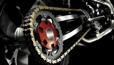 cadena moto colocar limpieza de la cadena de la motocicleta nitro pe