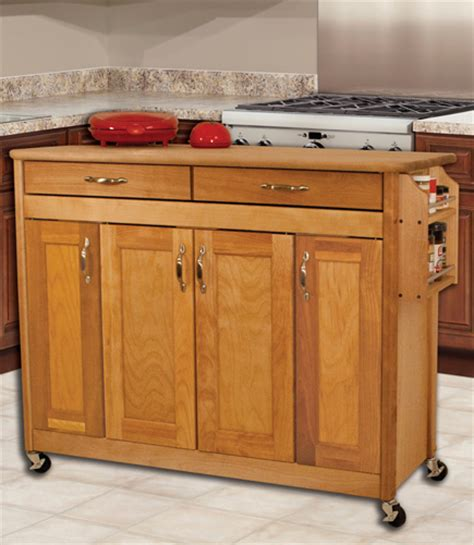 40 quot catskill craftsmen portable kitchen carts and islands country kitchen designs with