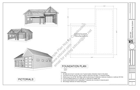 garage construction plans download free rv barn plan g303 18 x 45 14 24 x