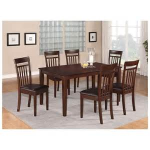 7 pc dining room set 7 pc dining room set dinette table and 6 dining room