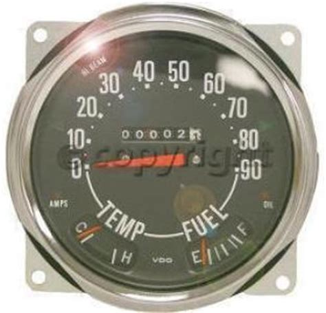 Jeep Cj5 Speedometer Chevrolet Instrument Cluster Auto Parts Warehouse Free