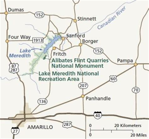 where is flint texas on map directions alibates flint quarries national monument u s national park service