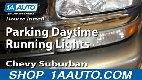 install replace parking daytime running lights