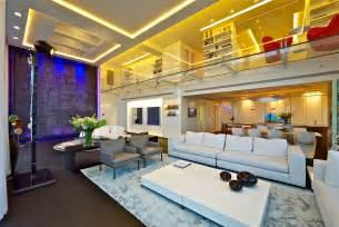 This state of the art modern penthouse apartment in tel aviv israel