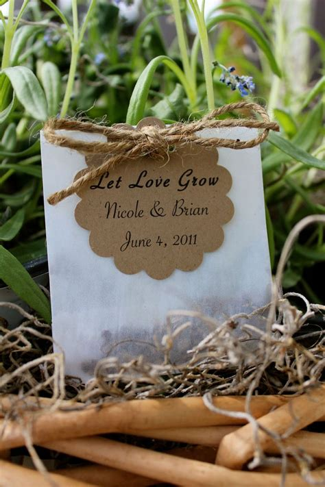 Wedding Favors Flower Seeds by Wildflower Seed Favor Weddings