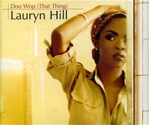lauryn hill that thing lauren hill doo wop that thing music