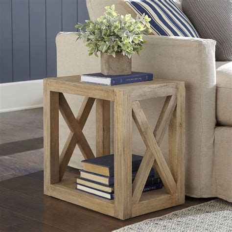 remodelaholic diy planked  farmhouse side table