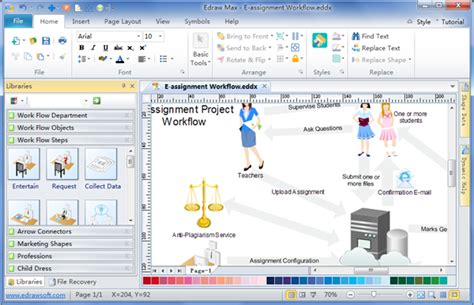 workflow diagram tool material management workflow