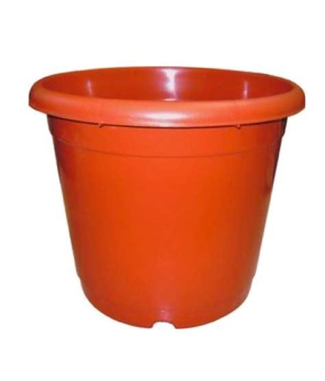 24 Inch Flower Pots E Plant Orange Flower Pots 24 Inches Pack Of 2 Buy E