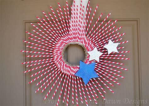 quick  cheap diy patriotic decorations