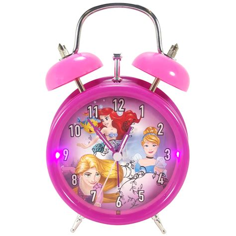 disney princess lite up bell alarm clock tvs electronics portable audio electronics