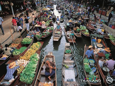 floating boat market floating market howdy thailand