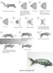 Origami Fish From Dollar Bill - koi money fold crafty koi origami and craft