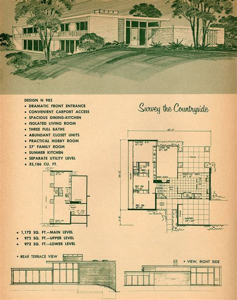26 best eichler floor plans images on pinterest modern 26 best mid century house plans images on pinterest