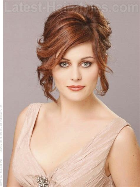 mother of the bride hairstyles partial updo mother of the bride updo mother wedding hairstyles