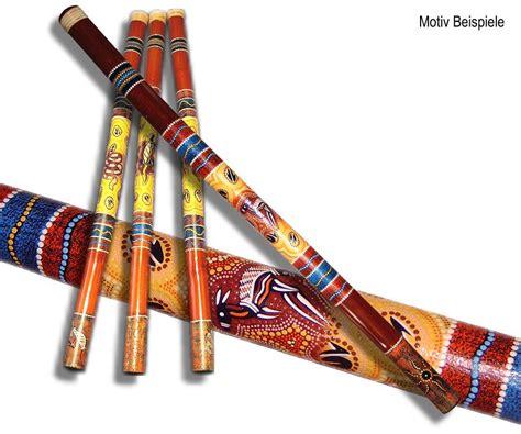 Plywood Design Didgeridoo Pastel Dot Red Yellow Australien Down