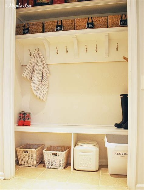 Closet Converted To Mudroom by How To Turn A Closet Into A Mudroom 11 Magnolia