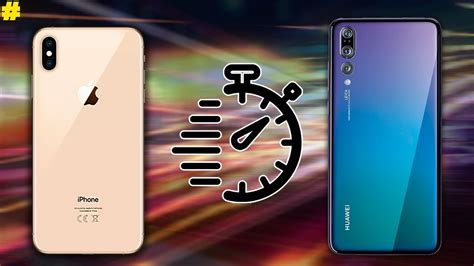 apple iphone xs xs max vs huawei p20 pro speed test