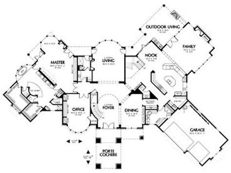 angled ranch house plans angled house plans 3 car angled garage house plans house design plans single story