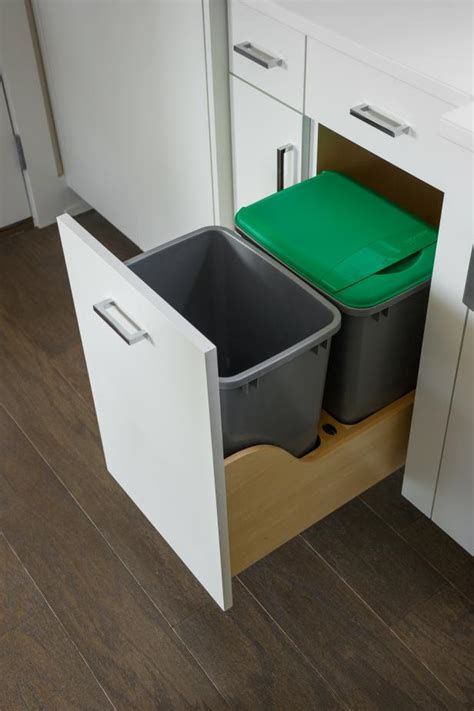 kitchen cabinet recycle bins house cleaning tips for forgotten areas hgtv s