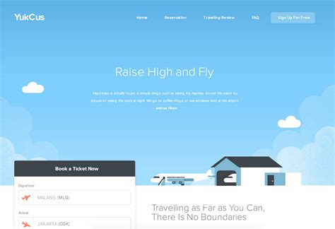 flight booking template 40 freebies goodies for web designers sept 2015 hongkiat