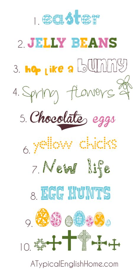 printable easter fonts weekend links easter edition sahlin studio digital