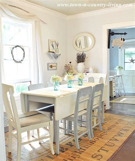 country living dining rooms my white dining room town country living