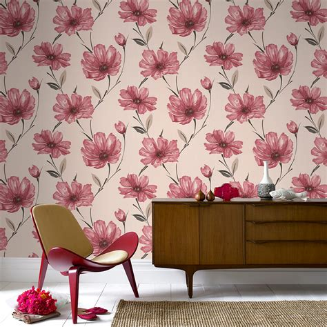 Living Room Flower Wallpaper 5 Wallpapers To Liven Up Your Living Room