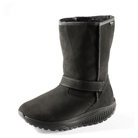 skechers boots womens s skechers 174 bollard shape ups 174 boots black