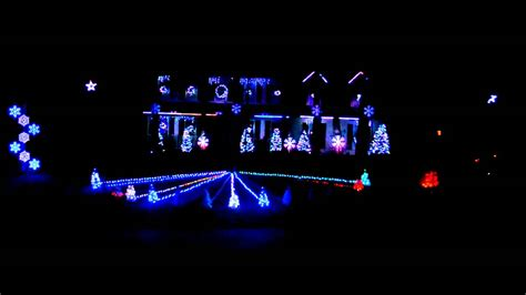 auburn fan goes all out with christmas light show