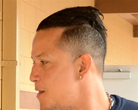 how to get miguel hairstyle let s have a caption contest in honor of miguel cabrera s