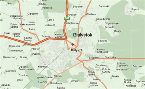 bialystok map białystok location guide