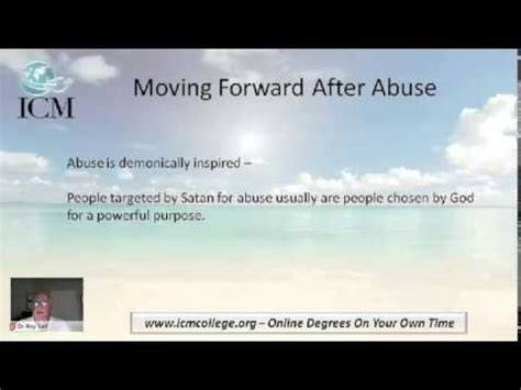 Moving forward after abusive marriage