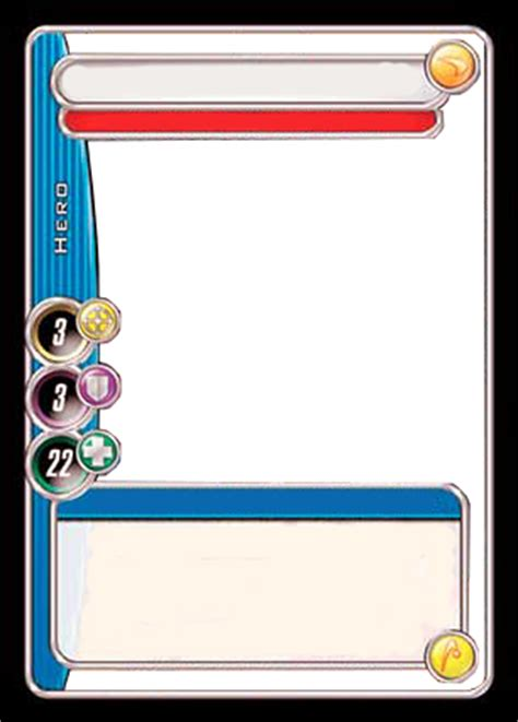 Free Trader Card Templates by City Of Heroes Trading Card Template By Matoro16 On Deviantart