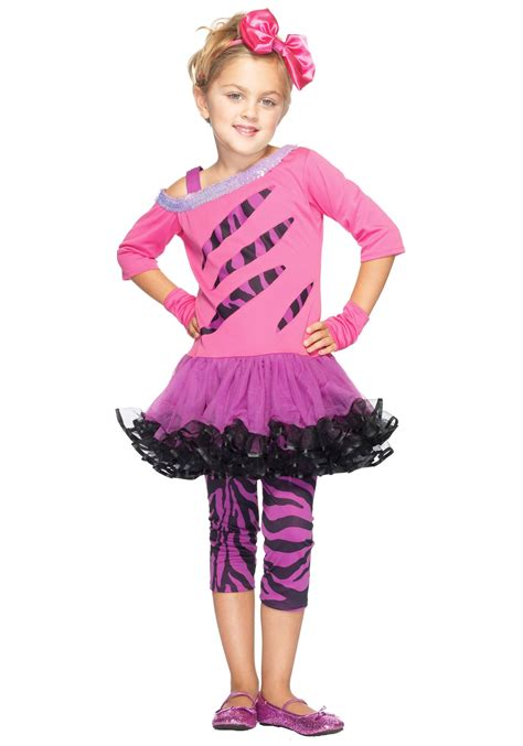 Girls retro rockstar costume