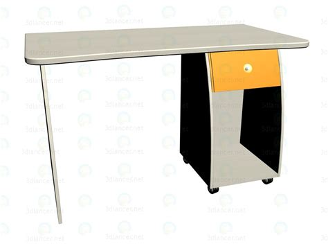 3d model work table lc 408 snite collection l class