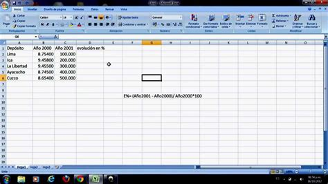 youtube tutorial excel formulas tutorial excel copia de f 243 rmulas vertical y