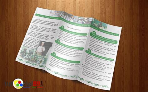 jasa membuat brosur cara mudah membuat brosur lipat 3 dengan photoshop