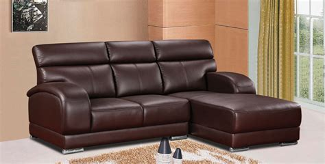 L Leather Sofa by Geting L Shape Leather Sofa Plus65 Furniture