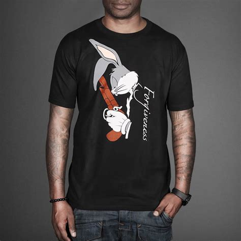 Tshirt Bugs Bunny bugs bunny forgiveness t shirt by vale wehustle menswear womenswear hats mixtapes