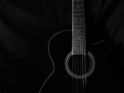 guitar wallpaper black and white hd guitar wallpaper high resolution wallpapersafari