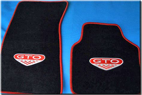 Pontiac Floor Mats by Car Motorsports Pontiac Floor Mats And Logos