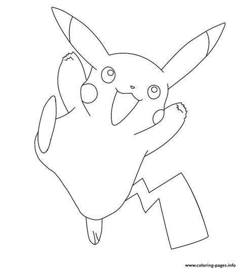pikachu coloring pages pdf pikachu pokemon coloring pages printable