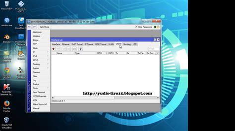 belajar mikrotik tanpa routerboard menggunakan virtualbox belajar mikrotik tanpa routerboard yudis tiro15