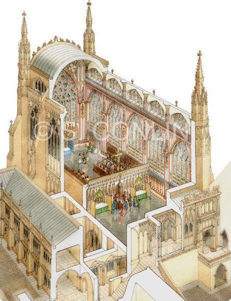 Westminster Abbey Floor Plan by Medieval Pictu